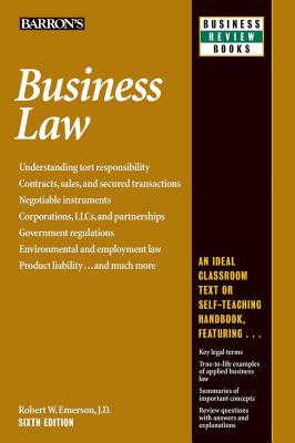 Business Law (Barron's Business Review) Cover Image