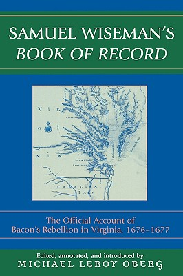 Cover for Samuel Wiseman's Book of Record