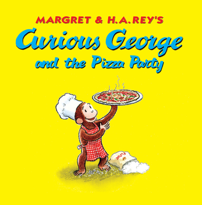 Curious George and the Pizza Party Cover Image