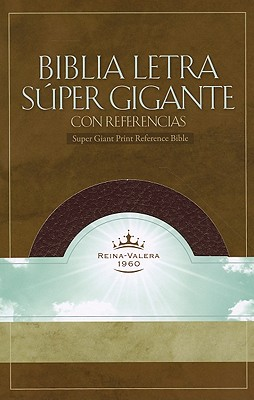 Super Giant Print Reference Bible-Rvr 1960 Cover