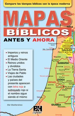 Mapas Biblicos Antes y Ahora Cover