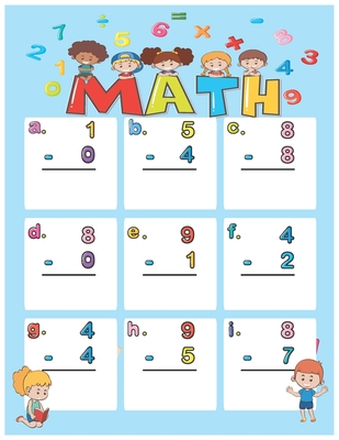 Math: Basic Math, Math Games and Puzzles, Shapes and Geometry Activities, Exercises and Tips. Cover Image