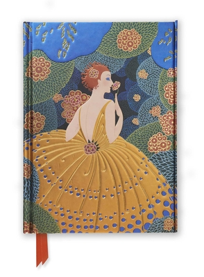 Erté Winter Flowers (Foiled Journal) (Flame Tree Notebooks #26) Cover Image