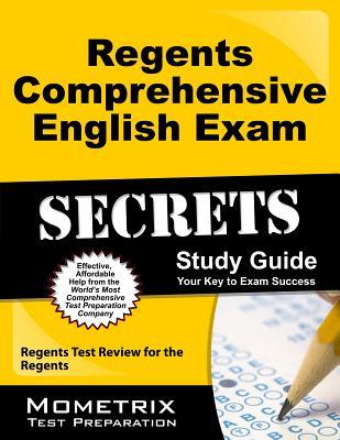 Regents Comprehensive English Exam Secrets Study Guide: Regents Test Review for the Regents Cover Image