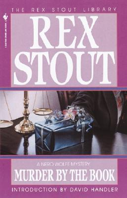 Murder by the Book (Nero Wolfe #19) Cover Image