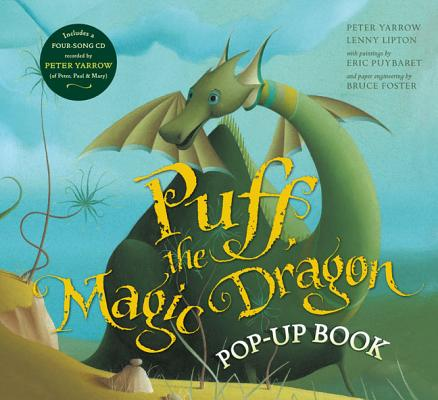 Puff, the Magic Dragon Pop-Up Book Cover