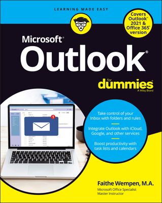 Outlook for Dummies, Office 2021 Edition Cover Image
