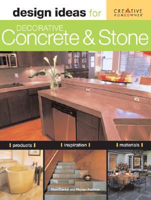Design Ideas for Decorative Concrete and Stone Cover Image