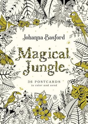 Magical Jungle: 36 Postcards to Color and Send Cover Image