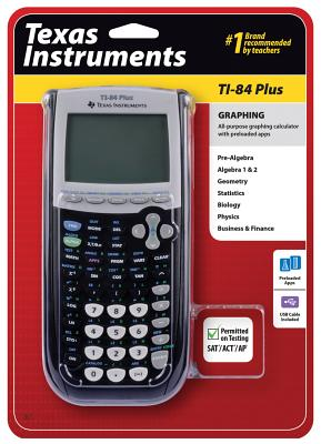 Ti84plus Graphing Calculator [With Battery] Cover Image