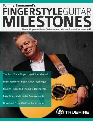 Tommy Emmanuel's Fingerstyle Guitar Milestones Cover Image