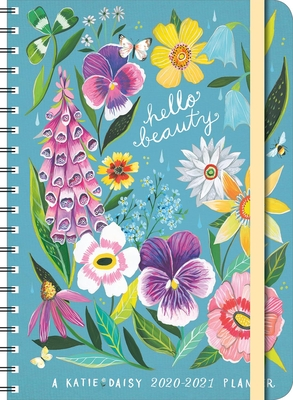 Katie Daisy 2020-2021 Weekly Planner: 2020-21 On-The-Go Weekly Planner Cover Image