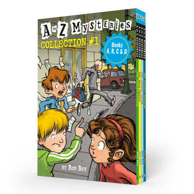 A to Z Mysteries Boxed Set Collection #1 (Books A, B, C, & D) Cover Image