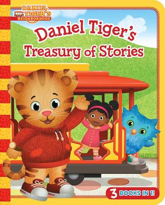 Daniel Tiger's Treasury of Stories: 3 Books in 1! (Daniel Tiger's Neighborhood) Cover Image