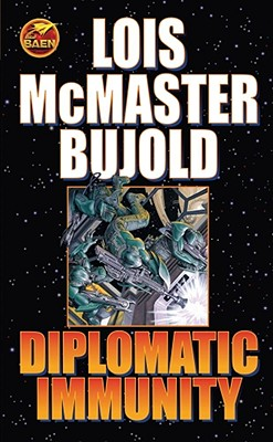 Diplomatic Immunity (Miles Vorkosigan Adventures) Cover Image