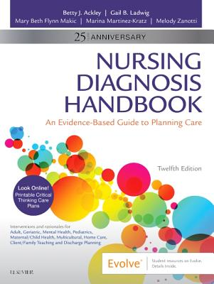 Nursing Diagnosis Handbook: An Evidence-Based Guide to Planning Care Cover Image