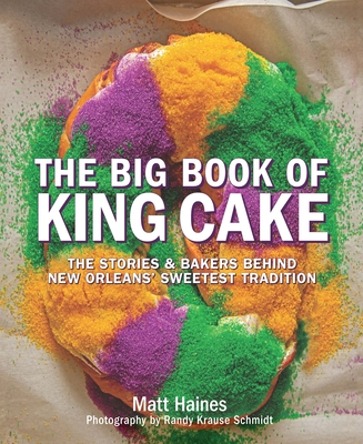 The Big Book of King Cake Cover Image