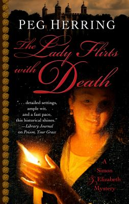 The Lady Flirts with Death Cover