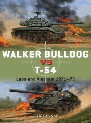 Walker Bulldog vs T-54: Laos and Vietnam 1971–75 (Duel) Cover Image