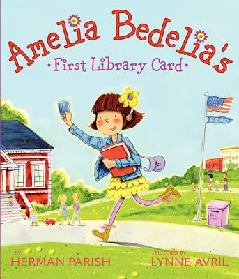 Amelia Bedelia's First Library Card Cover Image