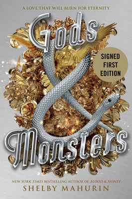 Gods & Monsters (signed edition) (Serpent & Dove #3) Cover Image
