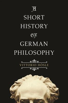 A Short History of German Philosophy Cover Image