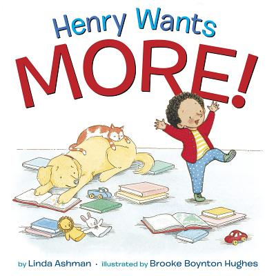 Henry Wants More! Cover