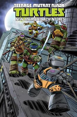 Teenage Mutant Ninja Turtles: New Animated Adventures Volume 3 (TMNT New Animated Adventures #3) Cover Image