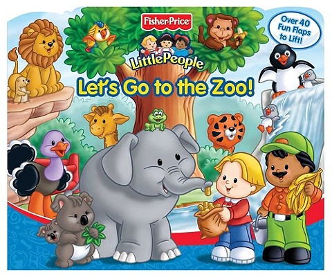 Fisher Price Little People Let S Go To The Zoo Brookline Booksmith