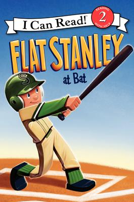 Flat Stanley at Bat Cover