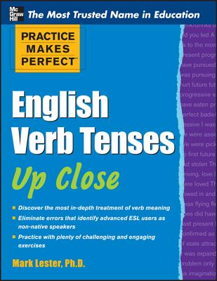 Practice Makes Perfect English Verb Tenses Up Close Cover Image