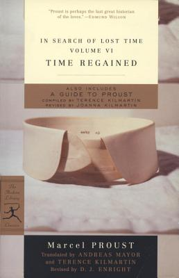 In Search of Lost Time, Volume VI: Time Regained Cover Image
