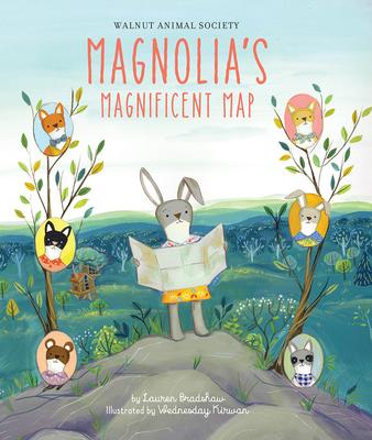 Magnolia's Magnificent Map by Lauren Bradshaw