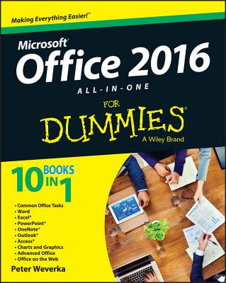 Office 2016 All-In-One for Dummies Cover Image