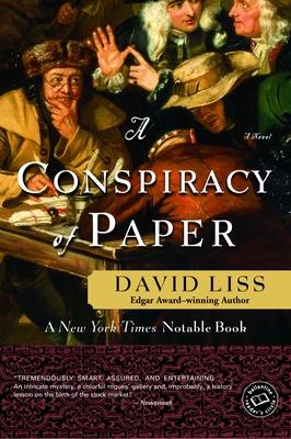 A Conspiracy of Paper: A Novel (Benjamin Weaver #1) Cover Image