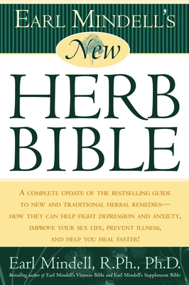 Earl Mindell's New Herb Bible Cover Image