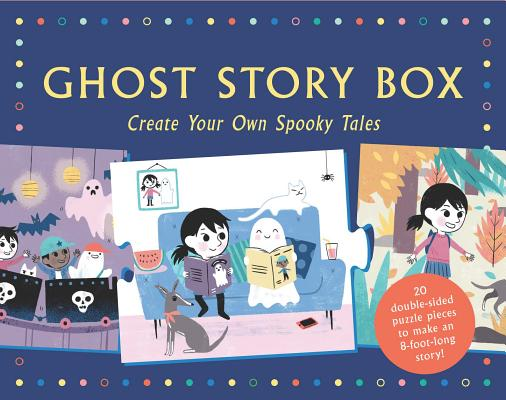 Ghost Story Box: Create Your Own Spooky Tales (Magma for Laurence King #2) Cover Image