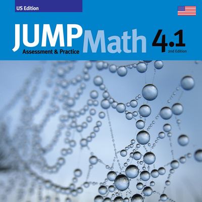 Jump Math AP Book 4.1: Us Common Core Edition, Revised Cover Image