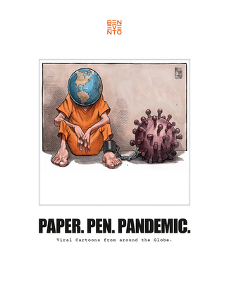 Paper. Pen. Pandemic.: Viral Cartoons from Around the Globe. Cover Image