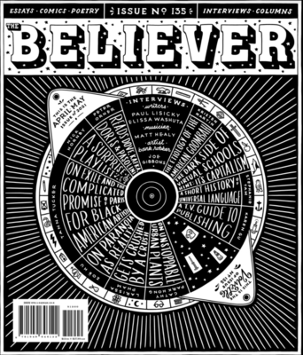 The Believer, Issue 135: April/May 2021 Cover Image