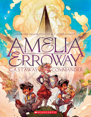 Amelia Erroway: Castaway Commander: A Graphic Novel Cover Image