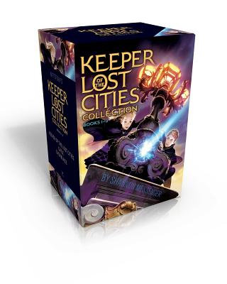 Keeper of the Lost Cities Collection Books 1-3: Keeper of the Lost Cities; Exile; Everblaze Cover Image