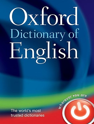Oxford Dictionary of English Cover Image