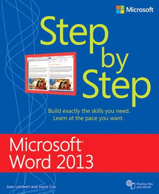 Microsoft Word 2013 Step by Step Cover Image