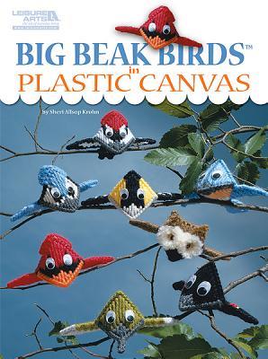 Big Beak Birds in Plastic Canvas (Leisure Arts #5853) Cover