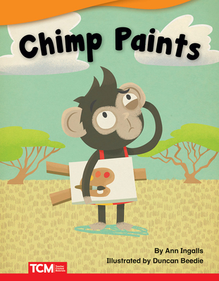 Cover for Chimp Paints (Fiction Readers)