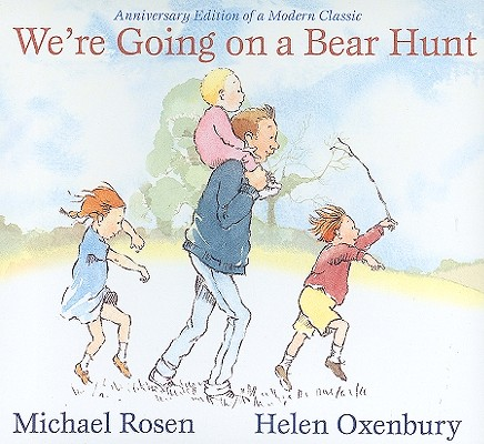 We're Going on a Bear Hunt: Anniversary Edition of a Modern Classic (Classic Board Books) Cover Image