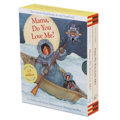 Mama, Do You Love Me? & Papa, Do You Love Me? Boxed Set: (Children's Emotions Books, Parent and Child Stories, Family Relationship Books for Kids) Cover Image