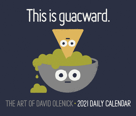 The Art of David Olenick 2021 Box Calendar Cover Image