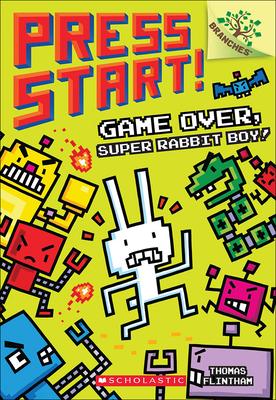 Game Over, Super Rabbit Boy! (Press Start! #1) Cover Image